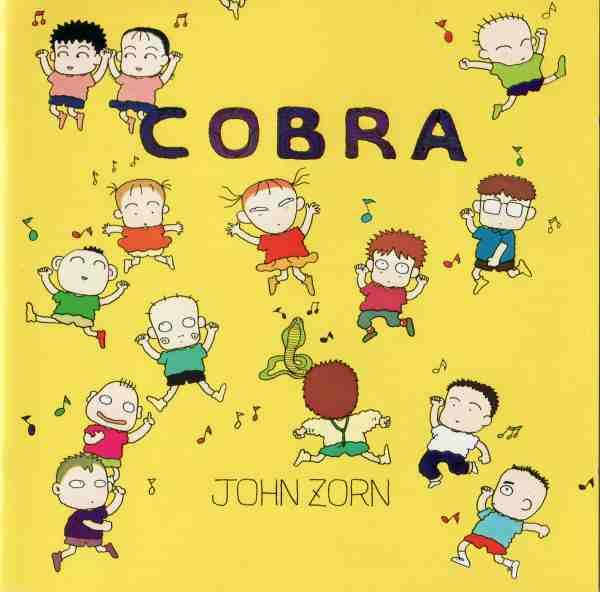JOHN ZORN - Cobra cover