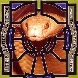 JOHN ZORN - John Zorn's Cobra: Live at the Knitting Factory cover