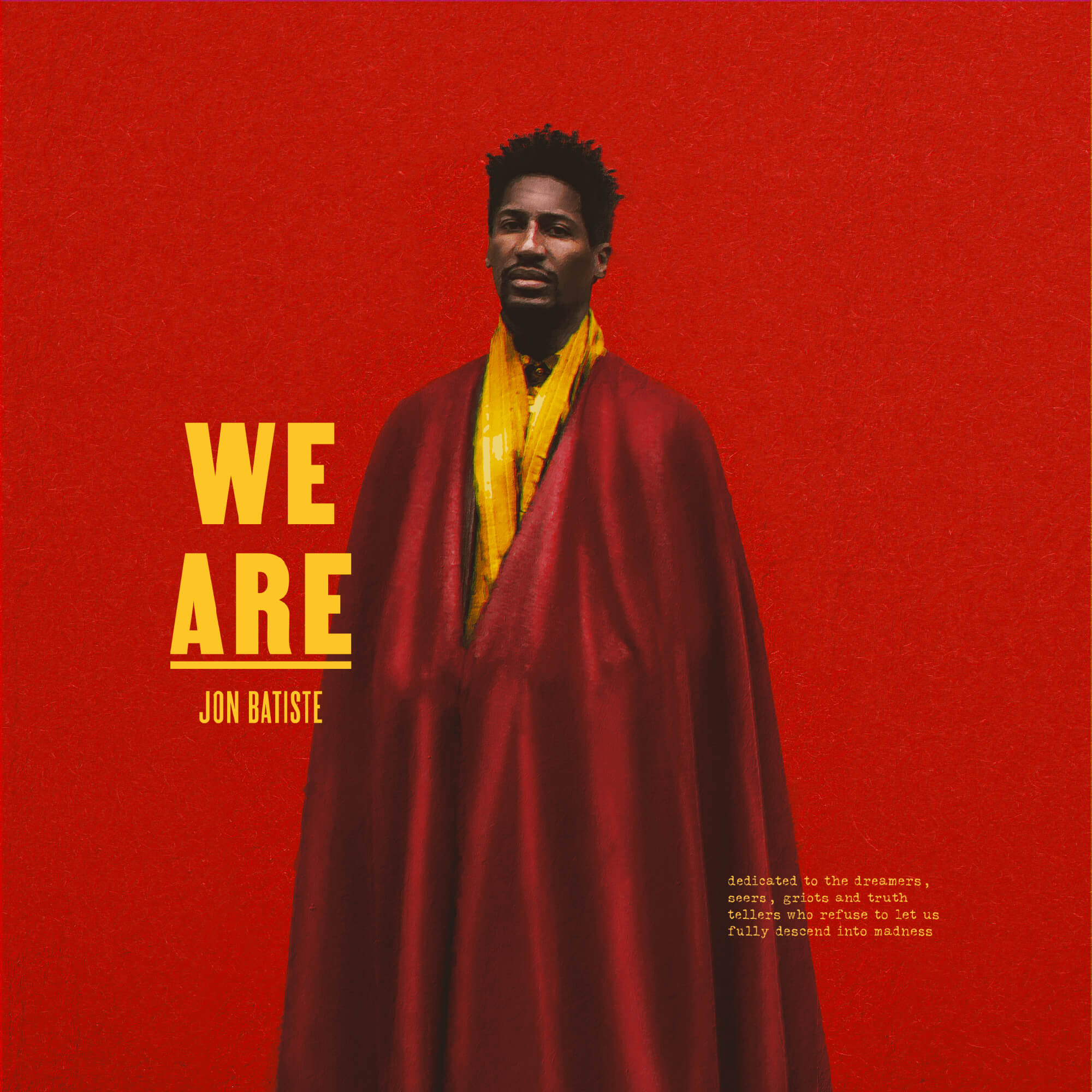 JONATHAN BATISTE - We Are cover