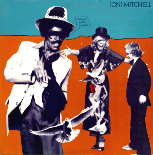 JONI MITCHELL - Don Juan's Reckless Daughter cover