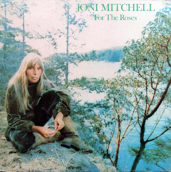 JONI MITCHELL - For the Roses cover
