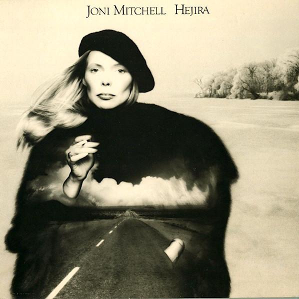 JONI MITCHELL - Hejira cover