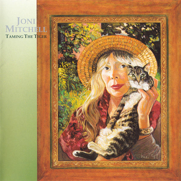 JONI MITCHELL - Taming the Tiger cover