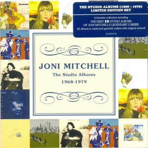 JONI MITCHELL - The Studio Albums 1968-1979 cover