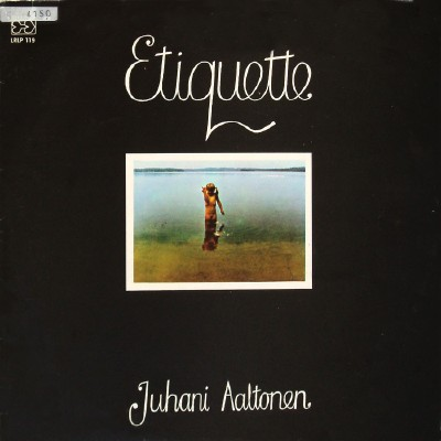 JUHANI AALTONEN - Etiquette cover