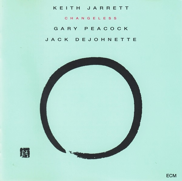 KEITH JARRETT - Changeless (with Gary Peacock and Jack DeJohnette) cover