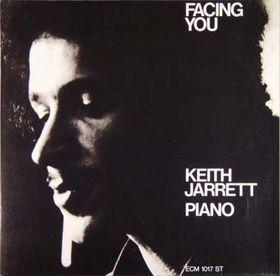 KEITH JARRETT - Facing You cover