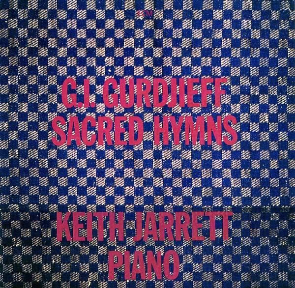 KEITH JARRETT - G.I.Gurdjieff: Sacred Hymns cover