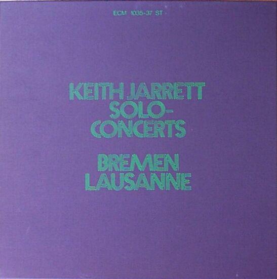 KEITH JARRETT - Solo Concerts: Bremen/Lausanne cover