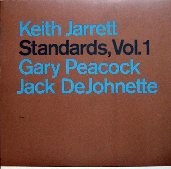 KEITH JARRETT - Standards, Vol.1 cover