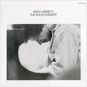 KEITH JARRETT - The Köln Concert cover