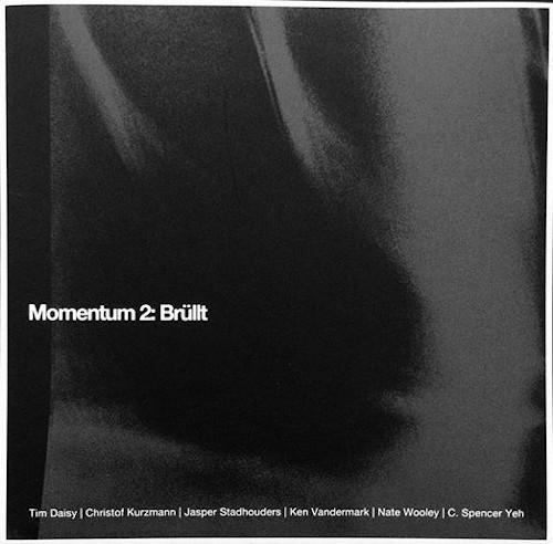 KEN VANDERMARK - Momentum 2 & 3 cover