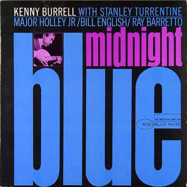 KENNY BURRELL - Midnight Blue cover