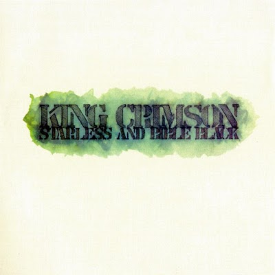 KING CRIMSON - Starless And Bible Black cover