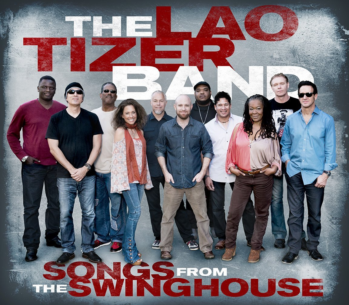 LAO TIZER - Songs from the Swing House cover