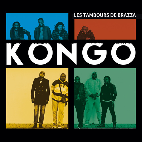LES TAMBOURS DE BRAZZA - Kongo cover