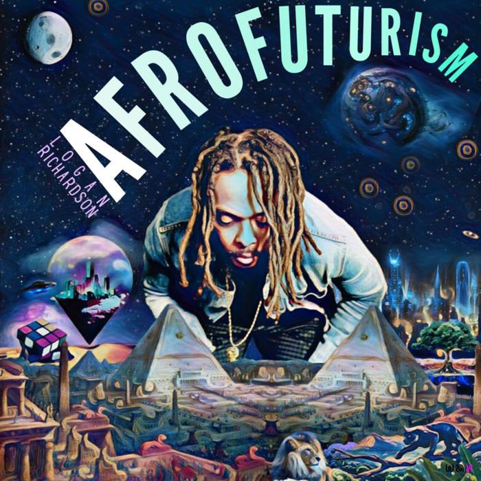 LOGAN RICHARDSON - Afrofuturism cover