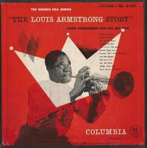 LOUIS ARMSTRONG - The Louis Armstrong Story, Volume I: Louis Armstrong And His Hot Five cover