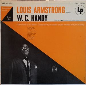 LOUIS ARMSTRONG - Louis Armstrong Plays W.C. Handy cover