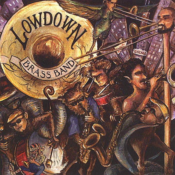 LOWDOWN BRASS BAND - LowDown Brass Band cover