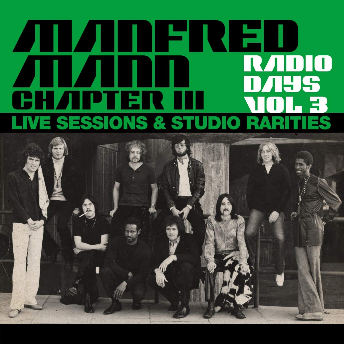 MANFRED MANN CHAPTER THREE - Radio Days Vol. 3 : Live Sessions & Studio Rarities cover