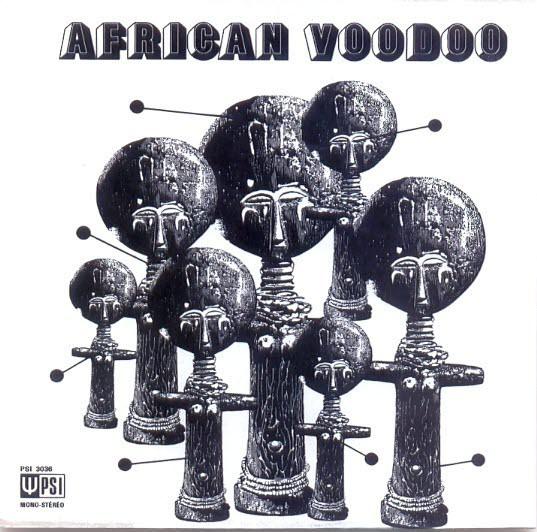 MANU DIBANGO - African Voodoo cover