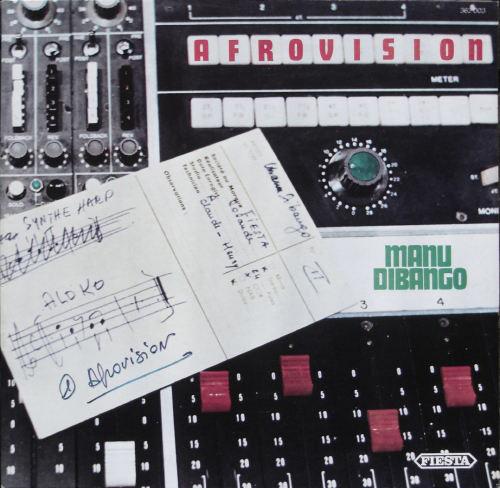 MANU DIBANGO - Afrovision (aka Big Blow) cover