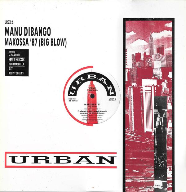 MANU DIBANGO - Makossa '87 (Big Blow) cover