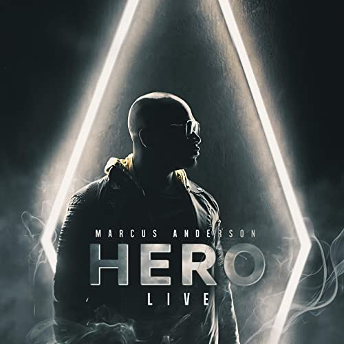 MARCUS ANDERSON - HERO Live! cover