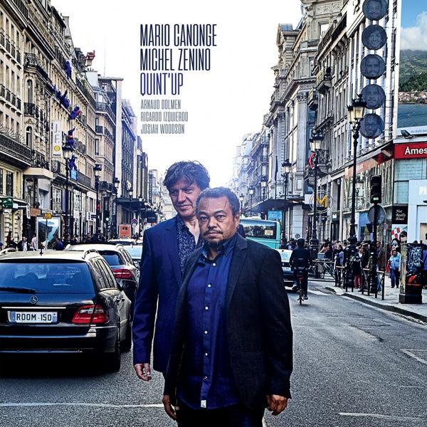 MARIO CANONGE - Mario Canonge-Michel Zenino : QuintUp cover