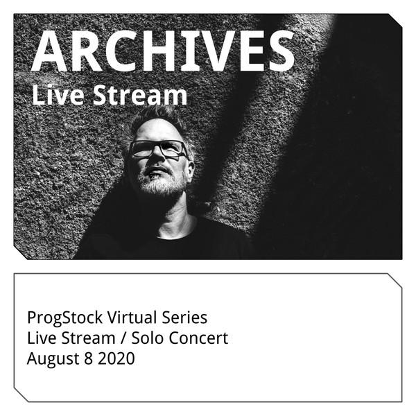 MARKUS REUTER - ProgStock Presents Virtual Series 2020 cover
