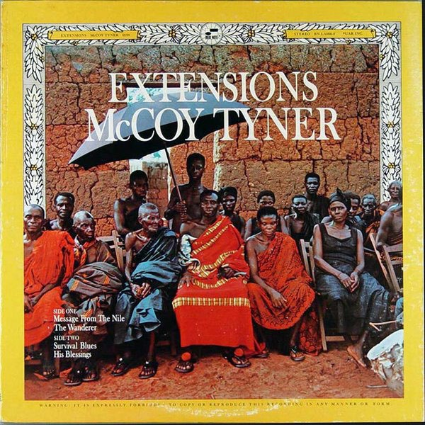 MCCOY TYNER - Extensions cover