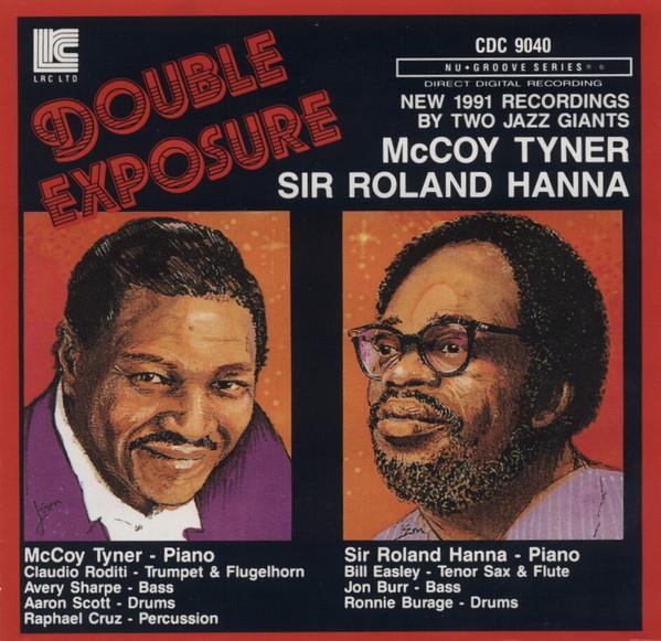 MCCOY TYNER - McCoy Tyner / Sir Roland Hanna : Double Exposure cover