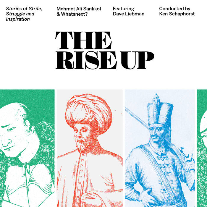 MEHMET ALI SANLIKOL & WHATSNEXT? - THE RISE UP : Stories of Strife, Struggle and Inspiration cover