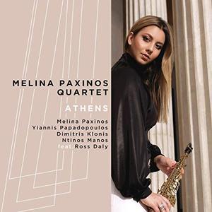 MELINA PAXINOS - Athens cover