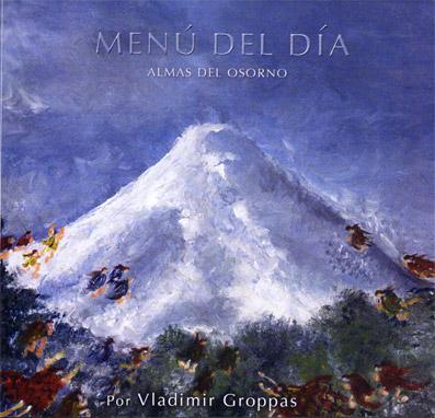 MENÚ DEL DÍA - Almas del Osorno cover