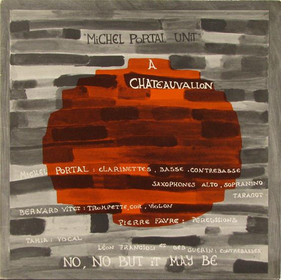 MICHEL PORTAL - Chateauvallon : 23 Aout 1972 cover