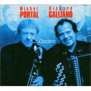 MICHEL PORTAL - Concerts (with Richard Galliano) cover