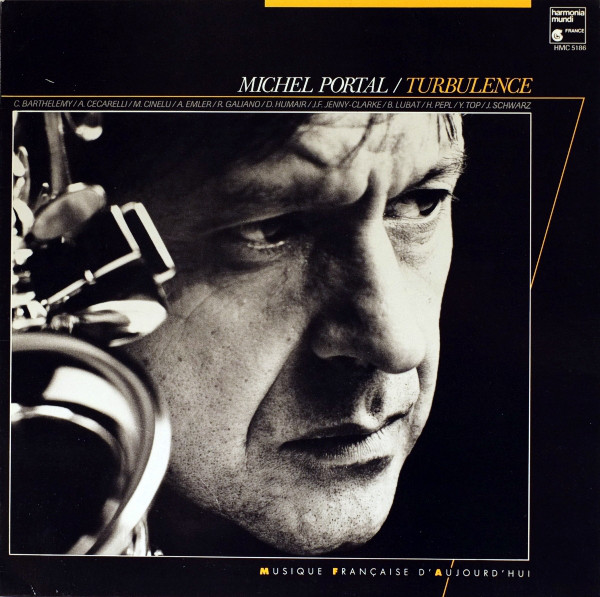 MICHEL PORTAL - Turbulence cover