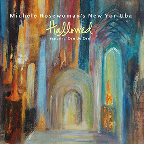 MICHELE ROSEWOMAN - Hallowed cover