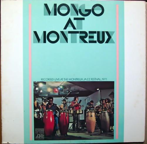 MONGO SANTAMARIA - Mongo at Montreux cover