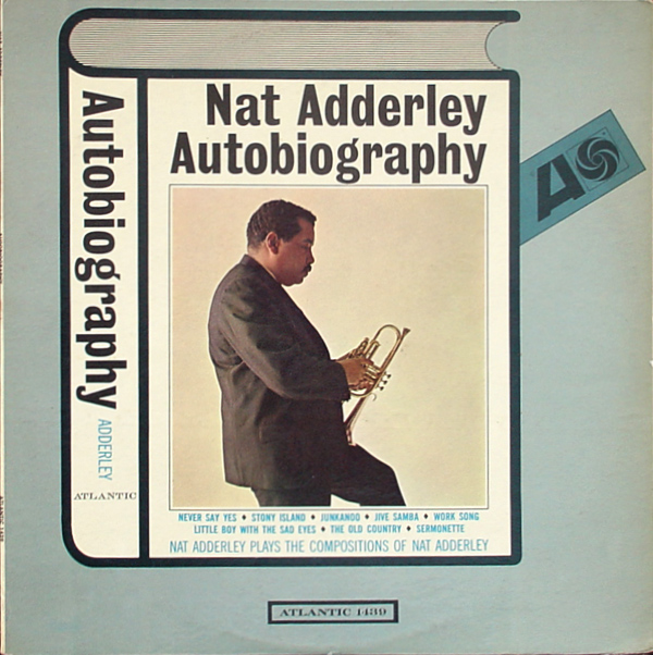 NAT ADDERLEY - Autobiography cover