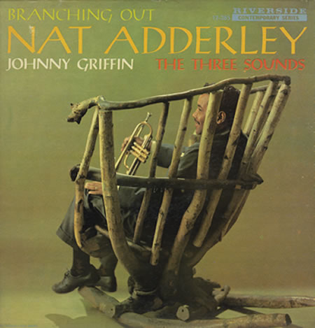 NAT ADDERLEY - Branching Out cover