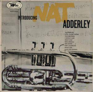 NAT ADDERLEY - Introducing Nat Adderley cover
