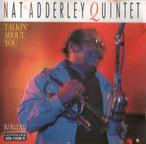 NAT ADDERLEY - Talkin' About You cover