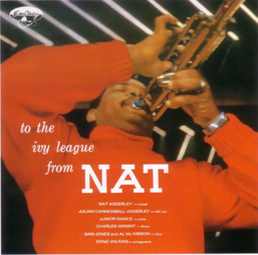 NAT ADDERLEY - To The Ivy League From Nat cover