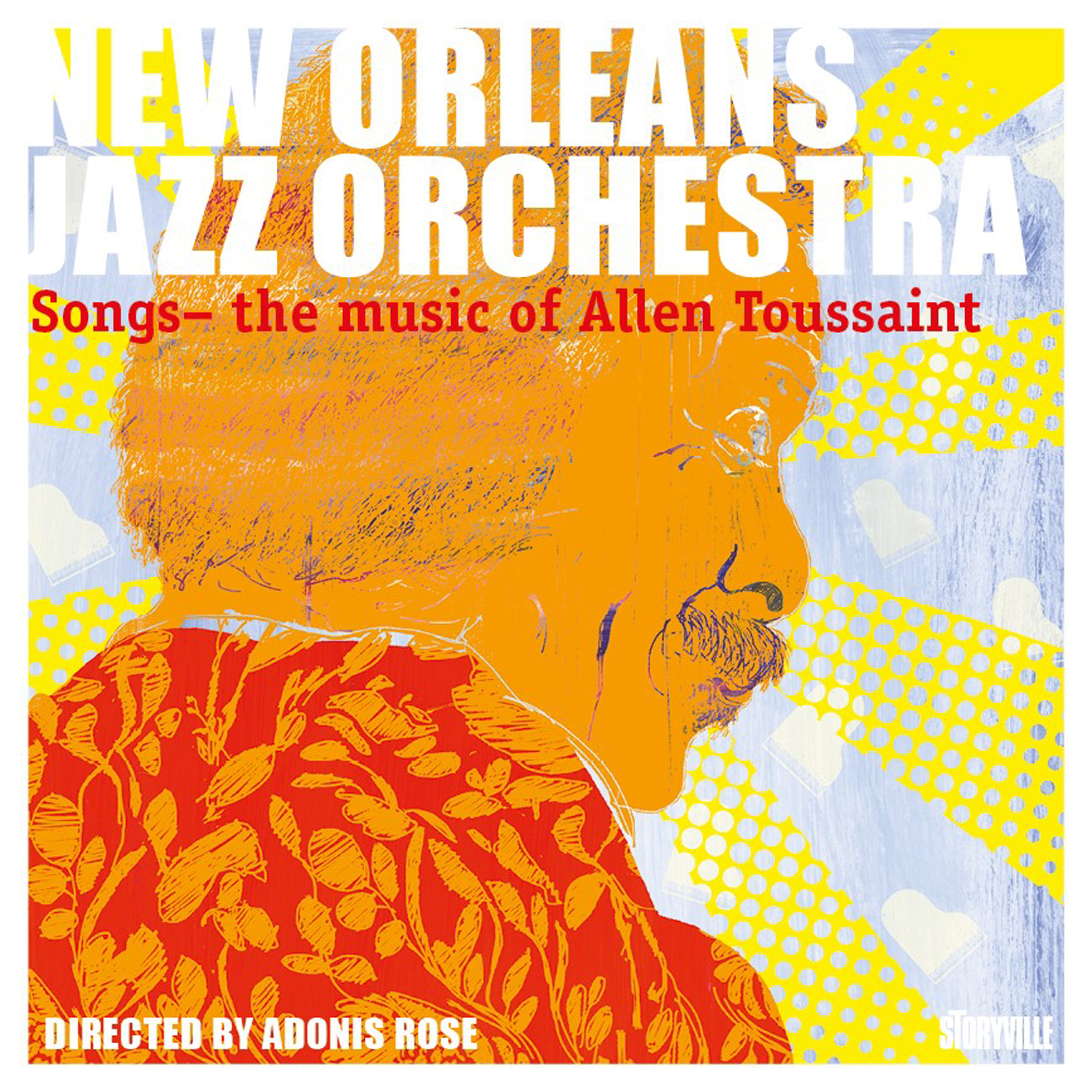 NEW ORLEANS JAZZ ORCHESTRA - Music of Allen Toussaint cover