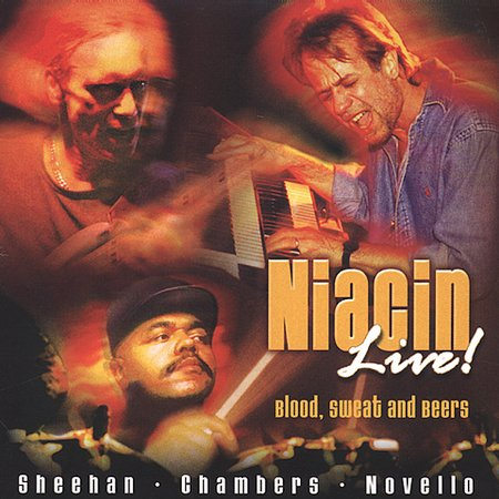 NIACIN - Live! Blood, Sweat and Beers cover