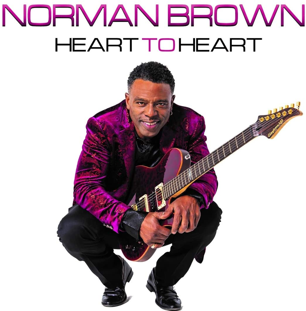 NORMAN BROWN - Heart To Heart cover