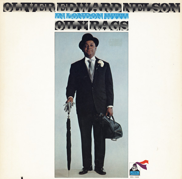 OLIVER NELSON - In London With Oily Rags cover